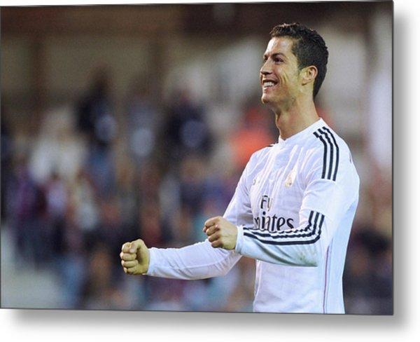 Cristiano Ronaldo 28 Metal Print