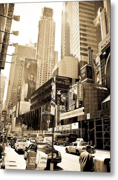 Crown Plaza New York City Metal Print