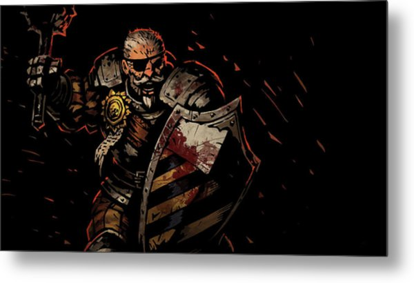 Darkest Dungeon Metal Print