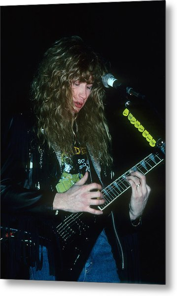 Dave Mustaine Of Megadeth Metal Print