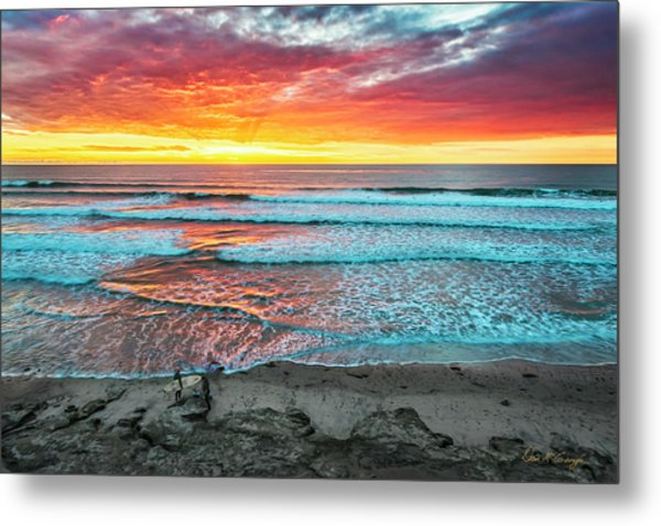 Day's Done Metal Print