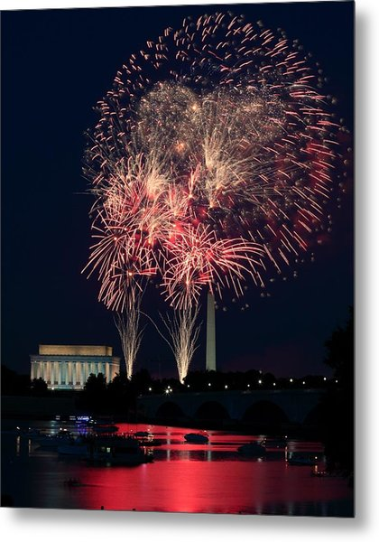 Dc 4th Of July Metal Print