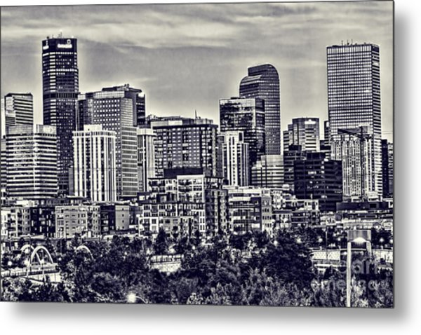 Denver Colorado Metal Print