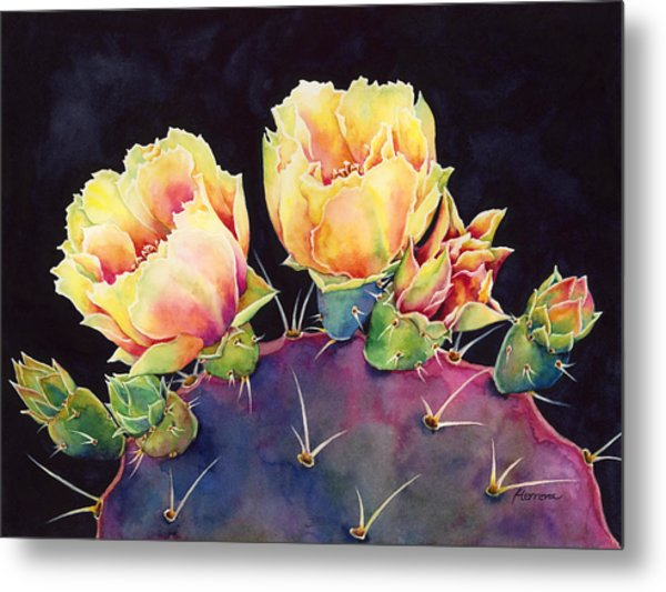 Desert Bloom 2 Metal Print