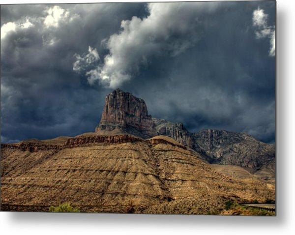 Desert Storm Clouds Metal Print by Farol Tomson