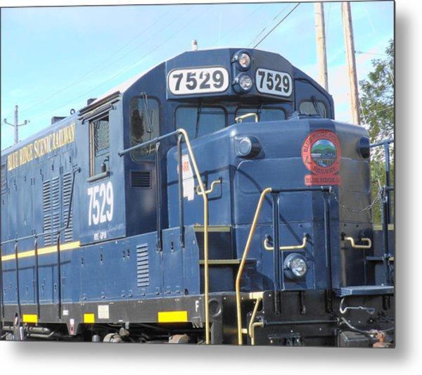 Diesel Engline Train Metal Print