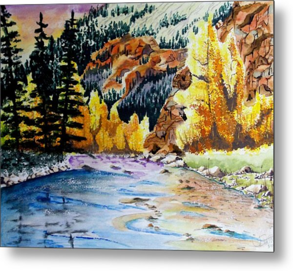 East Clear Creek Metal Print