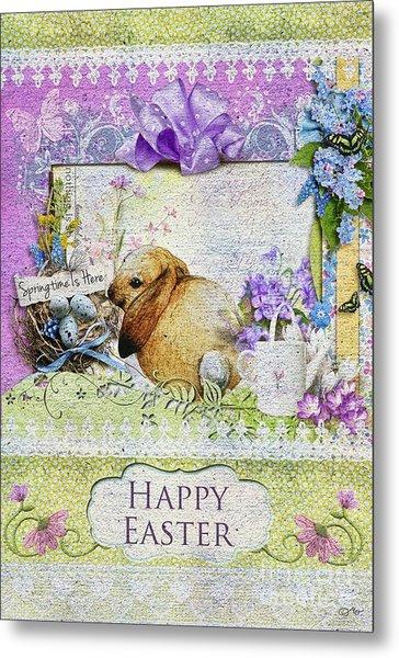 Easter Time Metal Print
