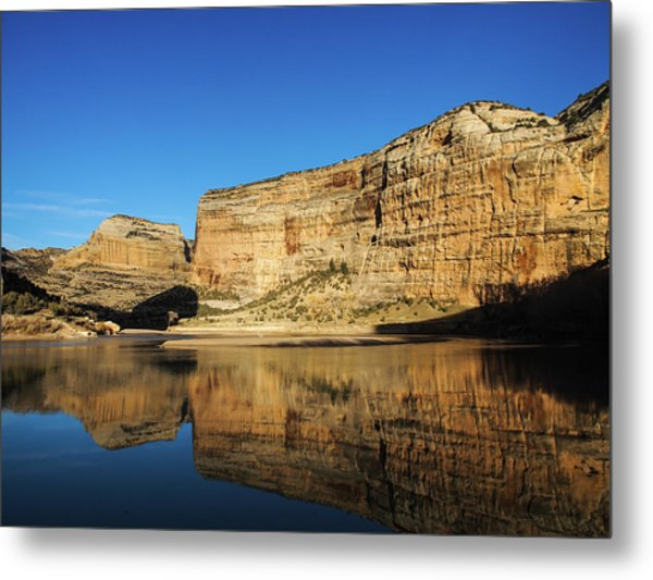 Metal Print featuring the photograph Echo Park In Dinosaur National Monument by Nadja Rider