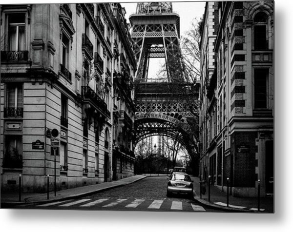 Only In Paris Metal Print