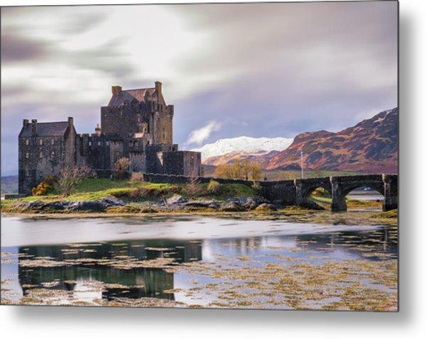 Eilean Donan Castle, Dornie, Kyle Of Lochalsh, Isle Of Skye, Scotland, Uk Metal Print