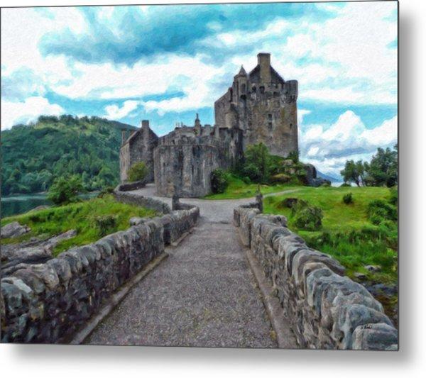 Eilean Donan Castle - -sct665549 Metal Print