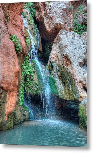 Elves Chasm Metal Print