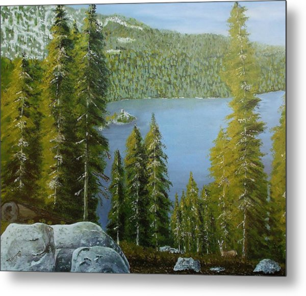 Emerald Bay - Lake Tahoe Metal Print