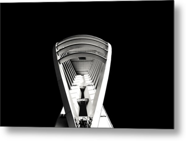 Emirates Spinnaker Tower Metal Print by Angela Aird