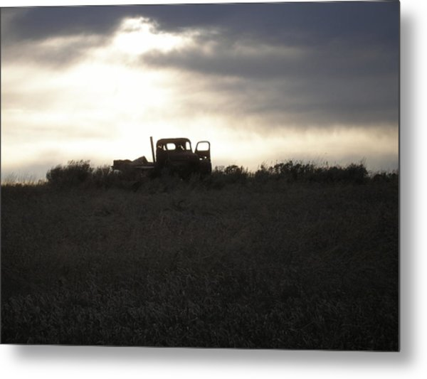 End Of The Road Metal Print by Shane Hayes