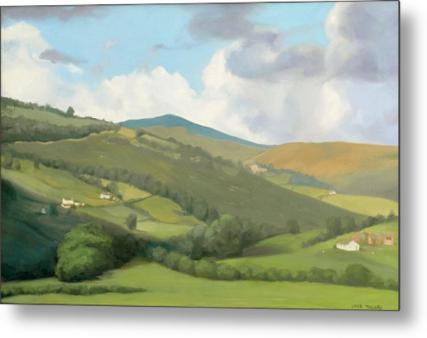 English Countryside Metal Print