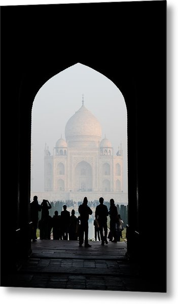 Entrance To The Taj Mahal Metal Print