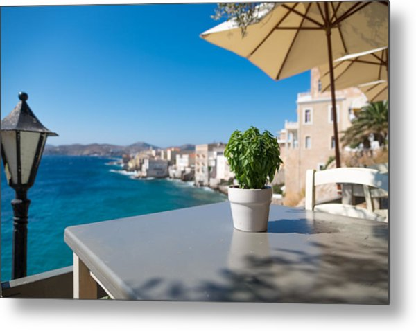 Ermoupoli - Syros / Greece. Metal Print