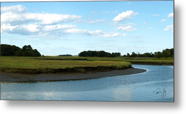 Essex River Metal Print