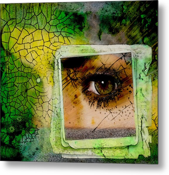 Eye, Me, Mine Metal Print