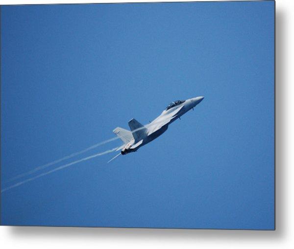 F-18 Hornet Metal Print by Wayne Higgs