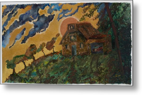 Fall Retreat Metal Print by Ione Citrin