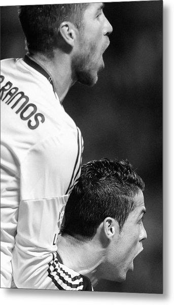 Cristiano Ronaldo 20 Metal Print