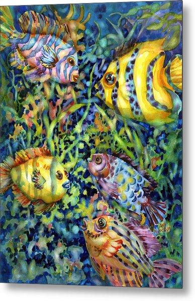 Fish Tales Iv Metal Print