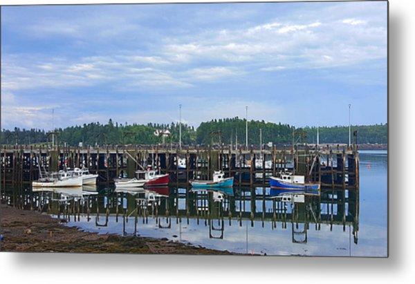 Fishing Boats - Beaver Harbour Metal Print