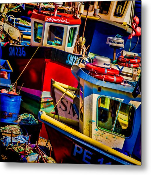 Fishing Fleet Metal Print