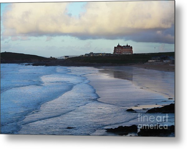 Fistral Beach Metal Print