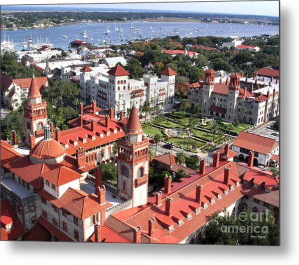 Flagler College Metal Print by Addison Fitzgerald