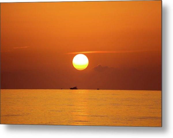 Florida Sunrise Metal Print