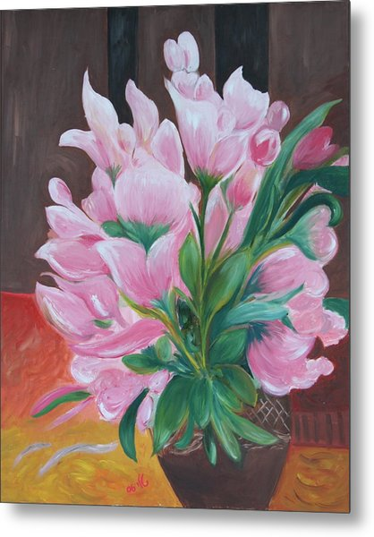 Flowers Metal Print by Taly Bar