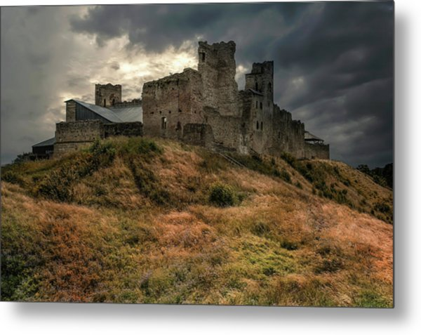 Forgotten Castle Metal Print