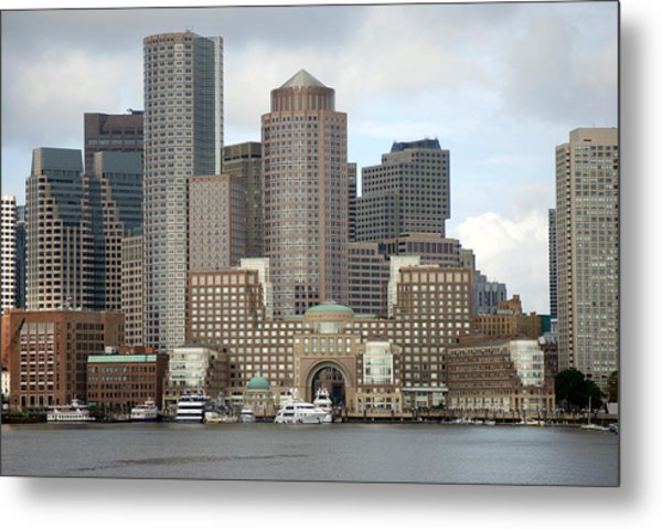 From Boston Harbor Metal Print