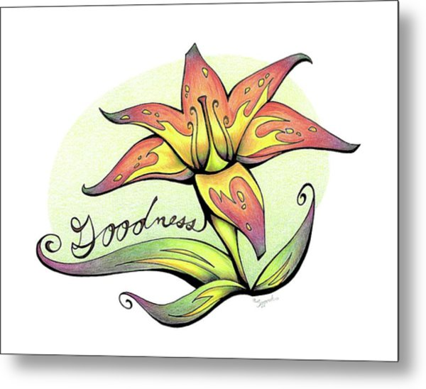 Fruit Of The Spirit Series 2 Goodness Metal Print