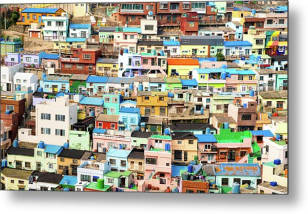 Gamcheon Culture Village Metal Print