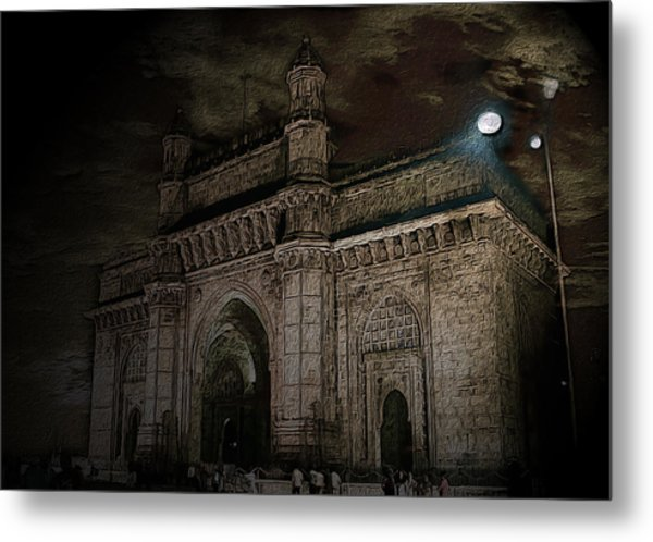 Gate Way Of India Metal Print