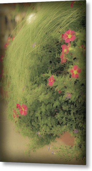 Gems In The Grass Metal Print