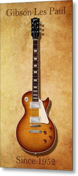 Gibson Les Paul Since 1952 Metal Print