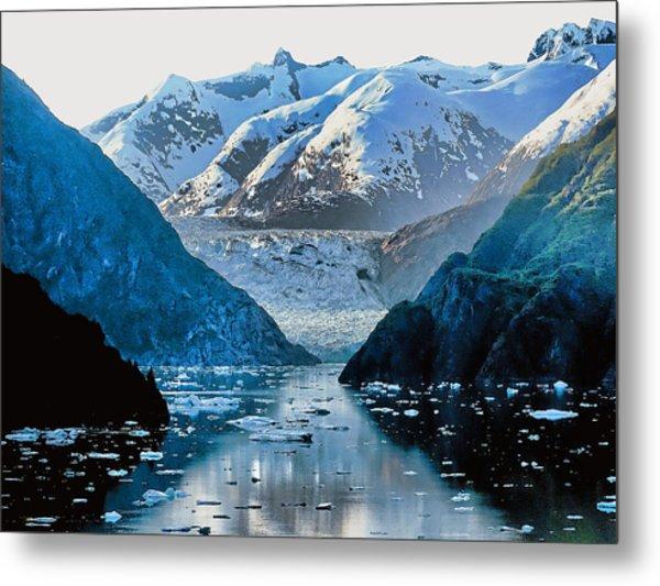 Glacier Bay Metal Print