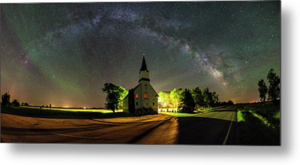 Metal Print featuring the photograph Glorious Night by Aaron J Groen