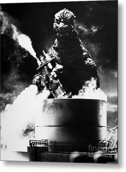 Godzilla Metal Print