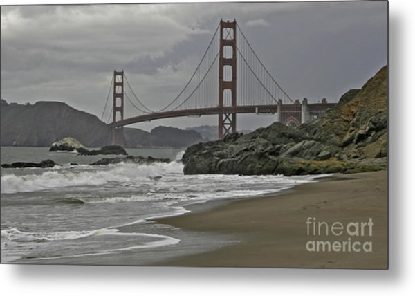 Golden Gate Study #1 Metal Print
