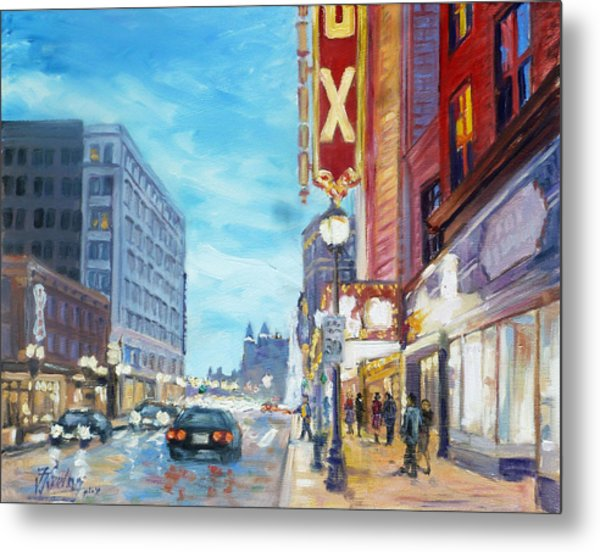 Grand Boulevard Saint Louis Metal Print