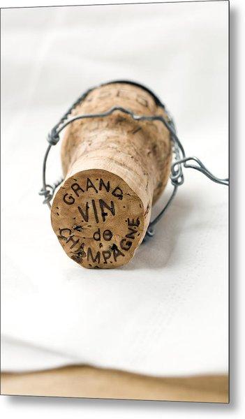 Grand Vin De Champagne Metal Print