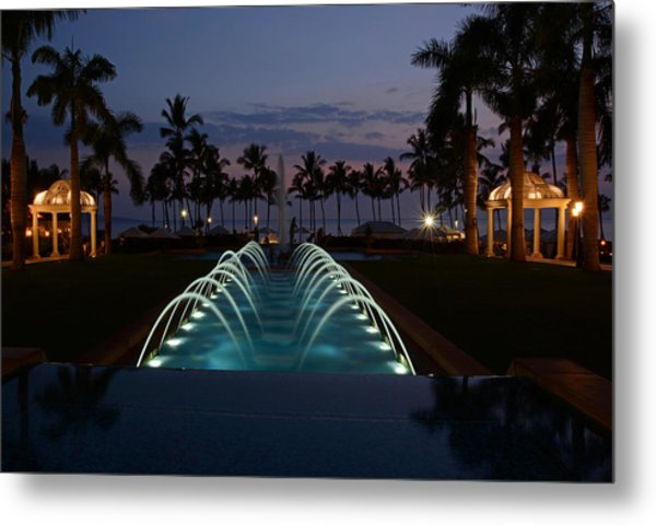 Grand Wailea Resort Metal Print