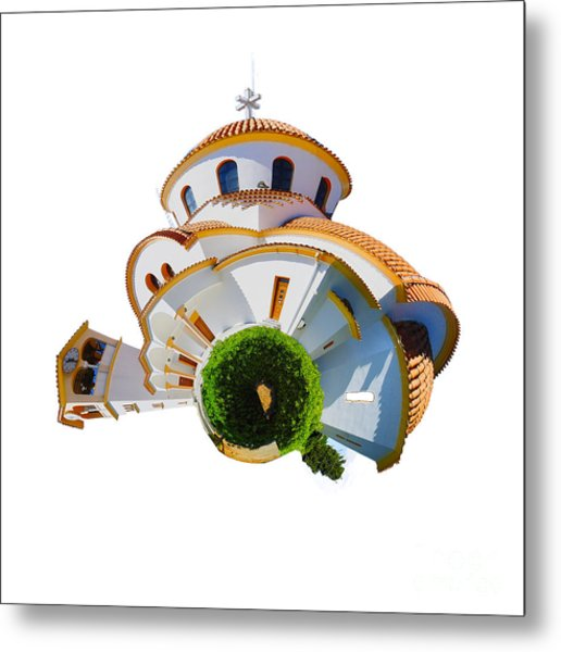 Greek Orthodox Church Metal Print